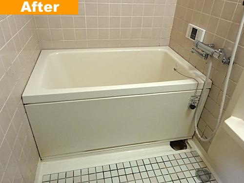 浴槽交換後のユニットバス